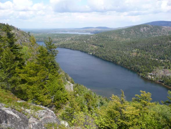 Echo Lake as seen from Beech Cliff (photo by Chip Lary)