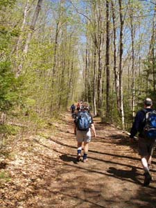 Lincoln Woods Trail (photo by Webmaster)