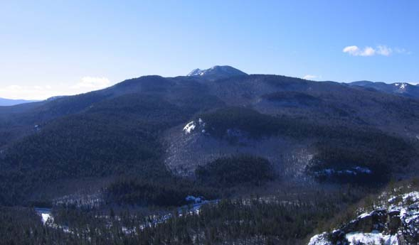 View of Mt. Chocorua from the ledges (photo by Mark Malnati)