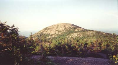 View of Mount Cardigan seen from Firescrew (photo by webmaster)