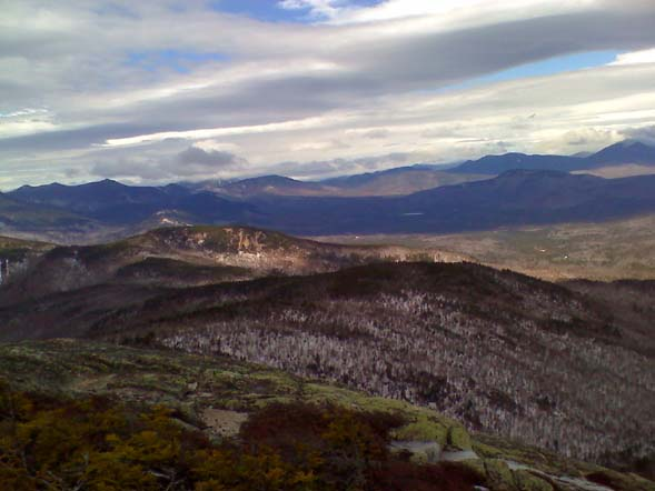 View north from the summit of Mt. Chocorua (photo by Bill Mahony)