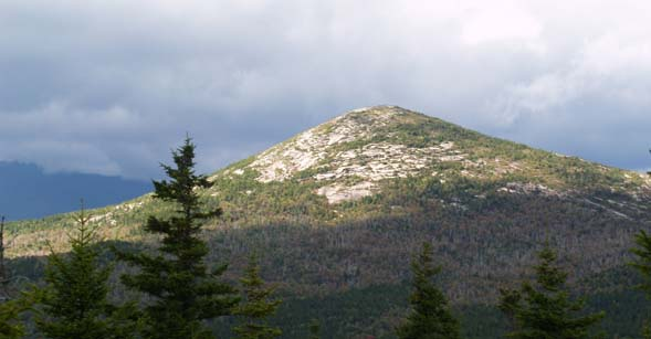 View of South Baldface from Eastman's summit (photo by Webmaster)
