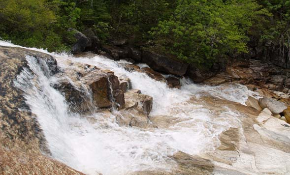 Thoreau Falls (photo by Webmaster)