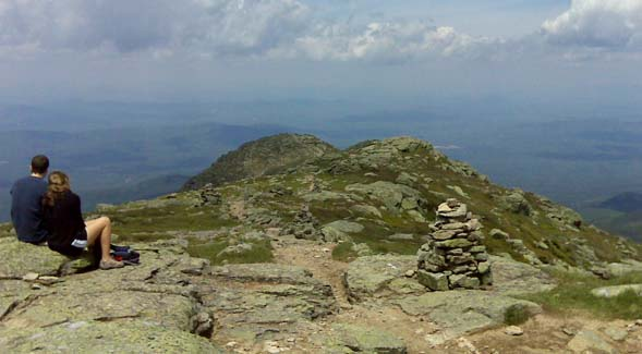 View from the summit of Mount Lafayette (photo by Diane King)