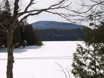 Long Pond and Hedgehog Mountain (photo by Webmaster)