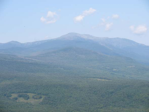 View of Mount Washington from Iron Mountain Trail on the north side of the mountain (photo by Karl Searl)