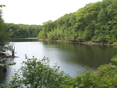 Lime Rock Preserve Pond (photo by Webmaster)