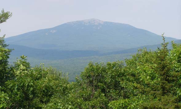 View of Grand Monadnock (photo by Robin Hood)