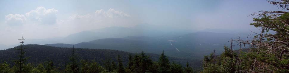 Franconia Ridge from Mt. Martha (photo by Alex Clogston)