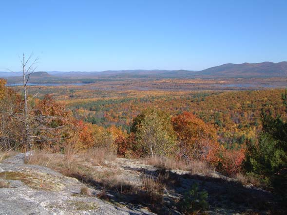 View from Peary Mountain (photo by Chip Lary)