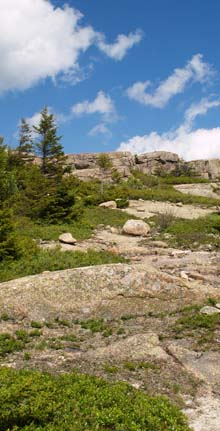 Ledges on Pemetic Mountain (photo by Webmaster)
