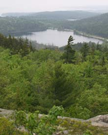 View from Parkman Mountain Trail (photo by Webmaster)