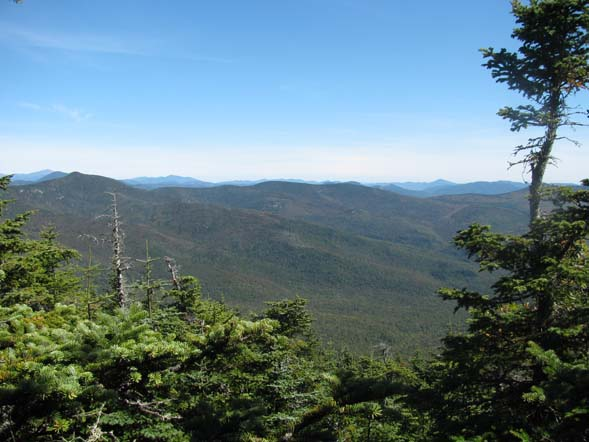 View from the summit of Mount Tecumseh (photo by Karl Searl)