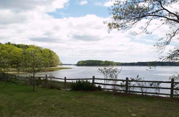Little Bay and Oyster River Tidal Estuary (photo by Webmaster)