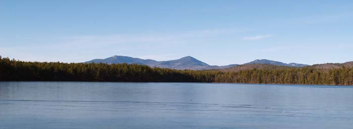 White Lake and Sandwich Range (photo by Webmaster)