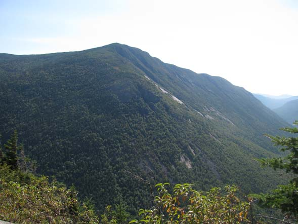 View of Mount Webster from the ledges at the top of Mount Willard (photo by Karl Searl)
