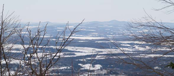 View from Carleton Mountain's summit to the north (photo by Webmaster)