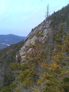 The side of Mount Whiteface (photo by Bill Mahony)