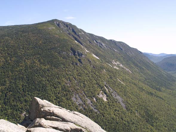 View of Webster Cliffs taken from the top of Mount Willard (photo by Webmaster)